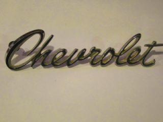 Chevrolet Emblem Part 3941255 Caprice Impala Monte Carlo Bel Air