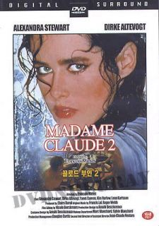 Madame Claude 2 DVD (1981) *NEW*FRENCH*NO ENG SUB