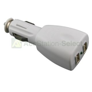 Port Dual USB DC Car Charger Adapter Accessory for Apple iPhone 5 5g