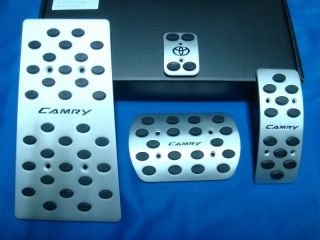 2003 2006 Toyota Camry Auto Automatic Sport Aluminum Pedal Pad Covers