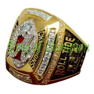 New 2011 ALABAMA Roll Tide National Championship ring, size 12 top