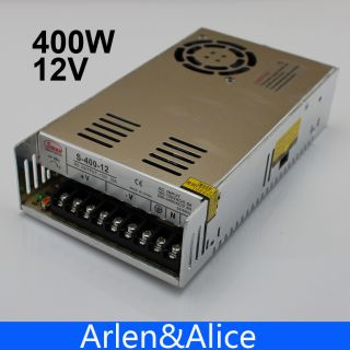 400W 12V Single Output Switching power supply for LED Strip light AC