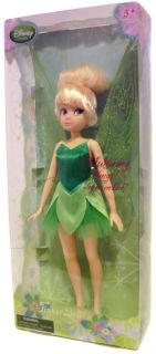 Disney Tinker Bell Large Doll Tinkerbell Fluttering Wings Fairy Pixie