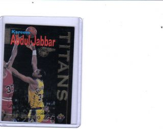 1996 Signature Rookies Kareem Abdul Jabbar auto autograph Lakers