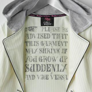 Abbey Dawn Avril Lavigne Alice in Wonderland Hoodie Blazer Jacket RARE