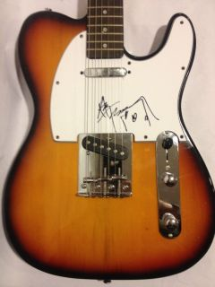 Kiss Ace Frehley Signed Autograph Guitar