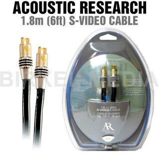 Acoustic Research PR 121 Pro Series II 6 ft s Video Cable Gold Plated
