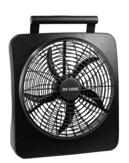 10 Battery Operated/Electric AC Adaptor Portable Fan Indoor/Outdoor