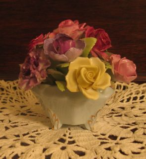 Royal Adderley Floral Bouquet with Footed Base – 1960'S