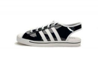 Adidas Womens Jeremy Scott Sandal Black White V20629
