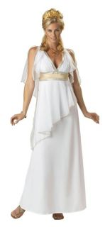 Greek Goddess Elite Collection Adult Women Costume Roman Dress White