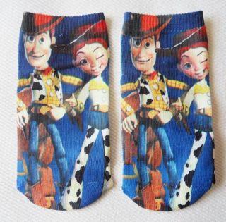 New Disney Toy Story Ankle Socks Adult Kids 5 6