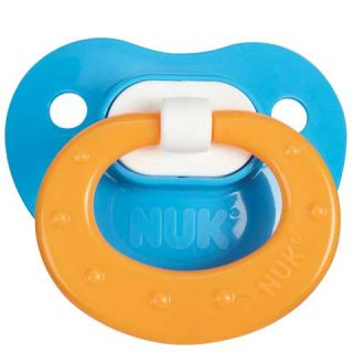 AB DL Size 3 Pacifier for Adult Babies 2pk Red w Purple and Green w