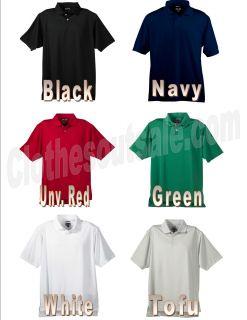 Adidas Golf ClimaLite Tournament Mens Polo 6 Colors