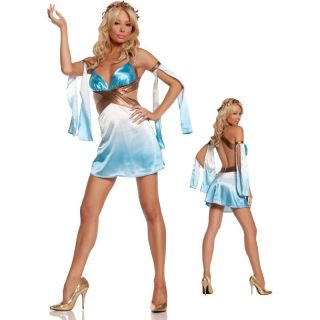 Grecian Greek Goddess Dress Sexy Womens Adult Halloween Costume L