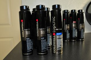 Goldwell Professional Hair Color Topchic Lots of Variations Choices