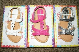 New Belladia Girls Slingback Sandals with Velcro Buckle Price REDUCED