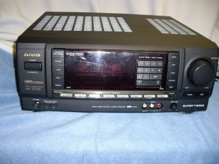 Aiwa AV X220 Surround Stereo Receiver Home Audio Works