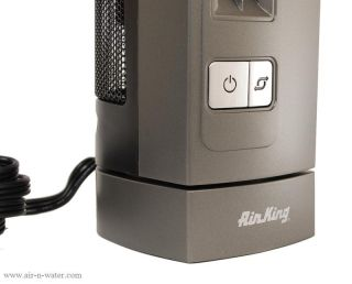 Air King 9400 Electric Desk Fan Compact Air Circulation Quiet Motor
