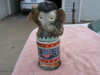 Spior Agnew Jim Beam Elephant Decanter