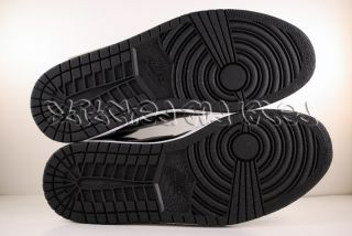 Nike Air Jordan I 1 Retro Black Shadow Grey White 11 DS