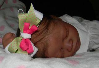 cuddly ethnic reborn baby girl aisha