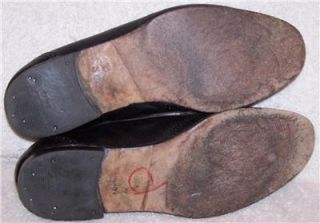 11 44 Johnston Murphy Black Patent Leather Wing Tip Tassle Loafer