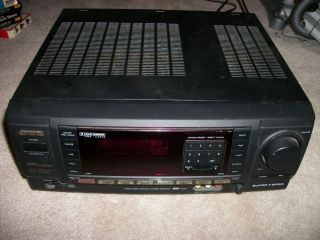 Aiwa AV X12O Digital Audio System Receiver Nice