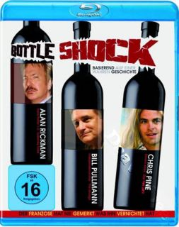 Bottle Shock New Arthouse Blu Ray DVD Alan Rickman