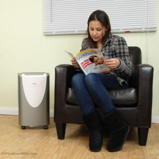 AD 400 NewAir 40 Pint Portable Room Dehumidifier With Adjustable