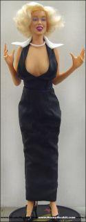 Marilyn Monroe Doll Gentlemen Prefer Blonds Black Dress
