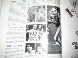 1976 NFL Seattle Seahawks Official Football Yearbook  Birth of a