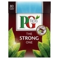 PG Tips 80 Pack The Strong One The Fresh One Orginal Earl Grey Post