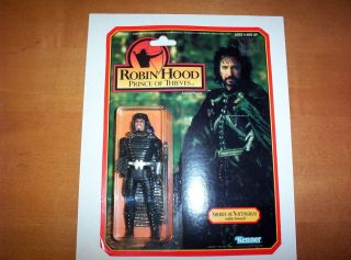 of Nottingham Robin Hood Prince of Thieves Kenner Alan Rickman