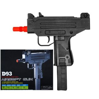 D93 Electric Automatic UZI Mac 10 Airsoft Gun SMG Auto Pistol