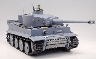 of 1:16 RC German Tiger I Tank Remote Control w/ Sound and Smoke
