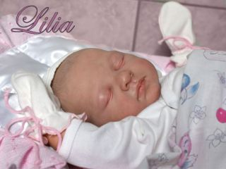 Reborn Baby Vinyl Doll Kit Lilia by Natali Blick Edition 700 Pre Order