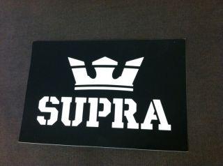 Footwear Skateboading Sticker Decal Logo Crown Shoes Muska Ellington