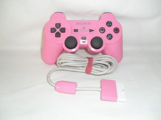 Official Sony PlayStation 2  Pink DualShock 2 Analog Controller