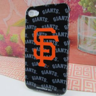 New San Francisco Giants Team Logo Hard Case Cover for Apple iPhone 4