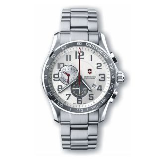 Swiss Army Mens Chrono Classic XLS Alarm Watch 241282