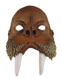 adult walrus halloween costume half mask