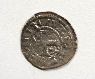 RARE Ancient Medieval 12THC Spanish Silver Coin King Alfonso I
