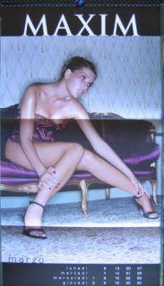 Calendar Sexy Alessia Merz Nude Calendario Maxim 2000