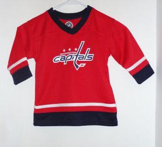 NHL Washington Capitals Alexander Ovechkin Kids Baby Hockey Jersey