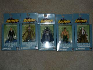 Batman Hush Action Figures Series 3 Jim Lee Alfred Scarecrow Gordon