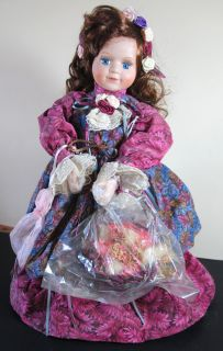 House of Lloyd Amber Lynn Musical Porcelain Doll
