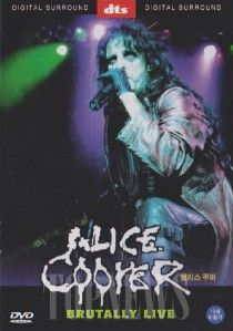Alice Cooper Brutally Live DVD SEALED