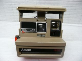 amigo 620 polaroid land camera vintage instant film