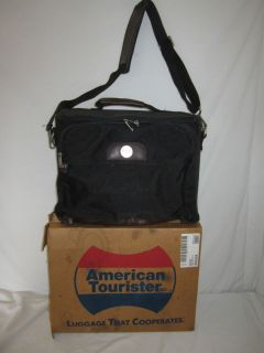 American Tourister Luggage Boarding Carry on Overnite Bag Black 1997